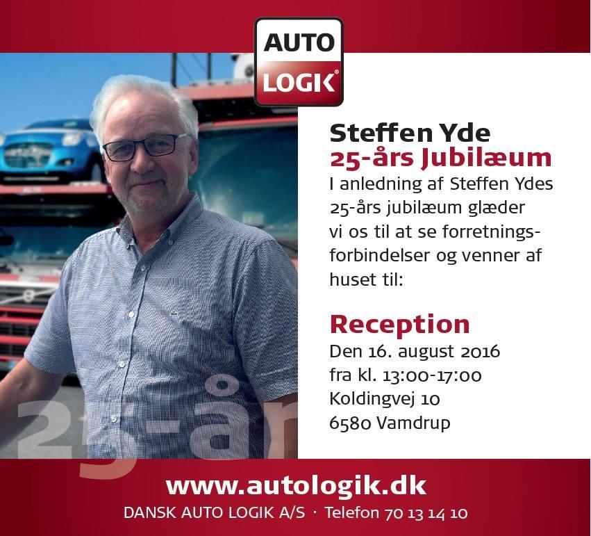 25-aars jubilæum Steffen Yde
